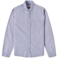 Oliver Spencer Eton Collar Shirt Blue