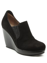 Daniel Kaleigh Wedge Loafers Black