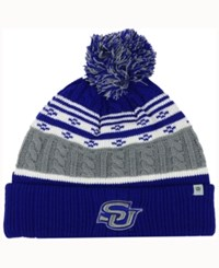 Top Of The World Southern Jaguars Altitude Knit Hat Gray Royalblue