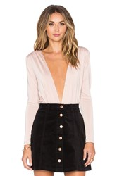 Lovers Friends X Revolve Tension Bodysuit Blush