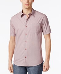 Weatherproof Ryan Seacrest Distinction Rio Collection Campshirt Only At Macy's Red