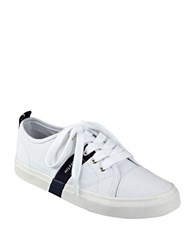 Tommy Hilfiger Lanie2 Signature Striped Sneakers White
