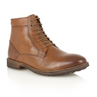 Frank Wright Action Mens Lace Up Boots Tan
