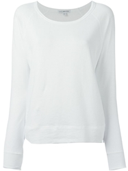 James Perse Raglan Sleeve Sweatshirt