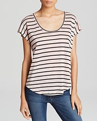 Joie Tee Keirraih Stripe Linen Picasso Pink