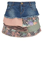 Smash Leire Mini Skirt Blue Blue Denim