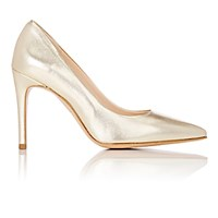 Barneys New York Women's Pointed Toe Pumps Silver