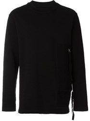 Blood Brother Crew Neck Sweatshirt Black