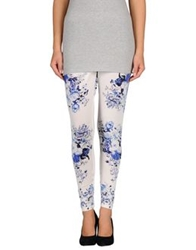 Pf Paola Frani Leggings White