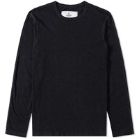 Reigning Champ Long Sleeve Jersey Tee Black