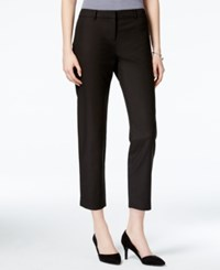 Bar Iii Cropped Skinny Trousers Only At Macy's Deep Black