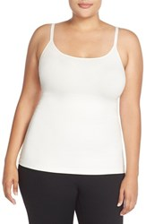 Plus Size Women's Spanx 'In And Out' Camisole Powder