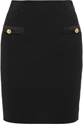 Moschino Quilted Crepe Mini Skirt