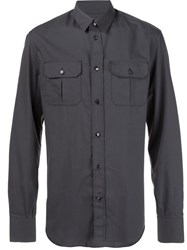 Maison Martin Margiela Front Pocket Shirt Black