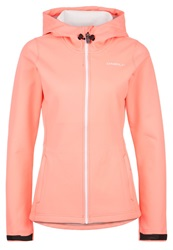 O'neill Soft Shell Jacket Neon Tangerine Pink