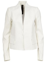 Ilaria Nistri Structured Blazer White