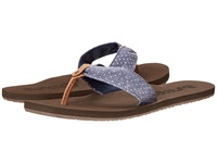 Reef Scrunch Tx Indigo Dot Women's Sandals Gray