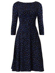 Fenn Wright Manson Dotty Astronomy Dress Blue Dotty