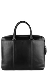 Men's Cole Haan Leather Briefcase Black