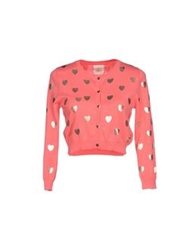 Maison Espin Cardigans Coral