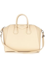 Givenchy Antigona Medium Leather Tote Light Beige