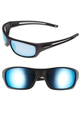 Men's Revo 'Guide S' 63Mm Polarized Sunglasses Matte Black Blue Water