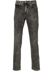 Levi's Made And Crafted 'Needle' Narrow Fit Jeans Black