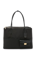 Tumi Hayes Triple Compartment Tote Black