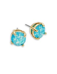 Kate Spade Sparkly Stud Earrings Blue