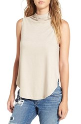 Leith Women's Funnel Neck Tank