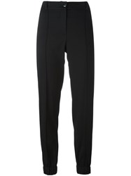 Kenzo Cropped Trousers Black