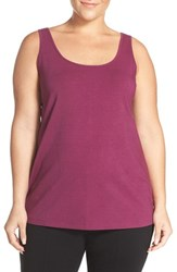 Nic Zoe Plus Size Women's 'Perfect' Scoop Neck Tank Jewel
