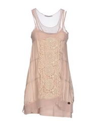 Yes Zee By Essenza Short Dresses Sand