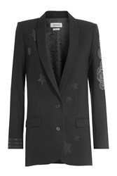 Zadig And Voltaire Embellished Blazer Black