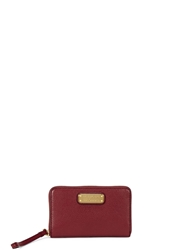 Marc By Marc Jacobs Wingman Burgundy Leather Wallet