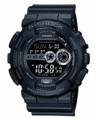 G Shock Men's Xl Digital Black Resin Strap Watch Gd100 1B