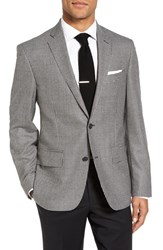 Nordstrom Men's Men's Shop Classic Fit Houndstooth Wool And Cashmere Sport Coat
