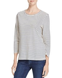 Current Elliott Striped Game Day Tee 100 Bloomingdale's Exclusive Navy Oakland Stripe