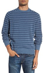 Vineyard Vines Men's 'Nautical Stripe' Crewneck Wool And Cashmere Sweater