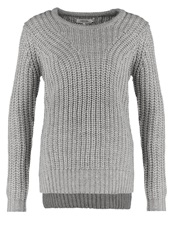 Zalando Essentials Jumper Light Grey Melange Mottled Light Grey