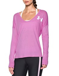 Under Armour Long Sleeve Tee Violet