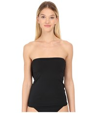 Kate Spade Georgica Beach Bandeau Tankini Black