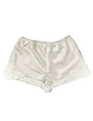 Aloe Ivory Silk Lace Shorts