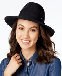 Inc International Concepts Packable Panama Hat Only At Macy's Black