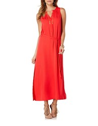 Rafaella Liquid Crepe Maxi Dress Lollipop