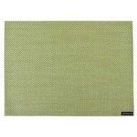 Chilewich Basketweave Rectangle Placemat Grass Green