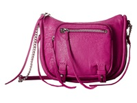 She Lo Rise Above Zip Crossbody Fuchsia Cross Body Handbags Pink