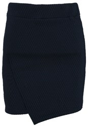 Tom Tailor Denim Pencil Skirt Sky Captain Blue Dark Blue