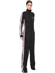 Givenchy Neoprene Jersey Jumpsuit W Logo Bands