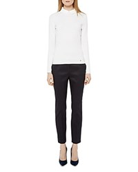Ted Baker Eiraat Textured Skinny Pants Navy